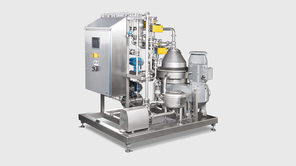 centrifuge milk